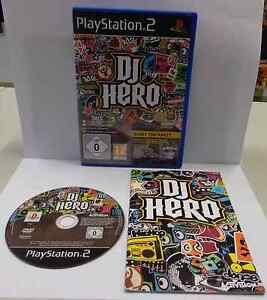 Console Gioco Game SONY Playstation 2 PS2 Play PAL ITALIANO DJ HERO - Activision