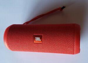 Red JBL Flip 3 Portable Wireless Bluetooth Speaker - NO POWER -Read Description
