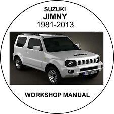 suzuki jimny 1981-2013 Workshop Service Repair Manual