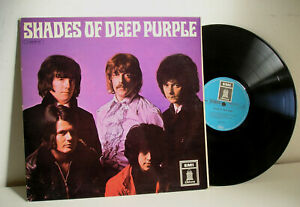 Shades of Deep Purple LP Germany laminated cover Odeon