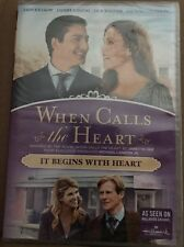 WHEN CALLS THE HEART IT BEGINS WITH HEART New Sealed DVD Hallmark Channel