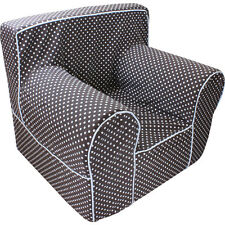 INSERT FOR POTTERY BARN ANYWHERE CHAIR WITH CHOCOLATE POLKA DOT COVER REGULAR