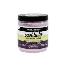 Aunt Jackie's Curl La La Defining Curl Custard Hair Cream for Natural Curls 15oz