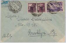 47404 - ITALIA REPUBBLICA - Storia Postale:  BUSTA Posta Aerea tariffa 90 L 1948