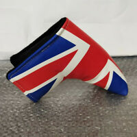 New UK Flag Design Golf Blade Putter Head Cover Headcover for Titleist Scotty