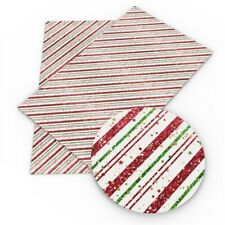 """Christmas FAUX LEATHER SHEET 8"""" x 12"""" WHOLESALE PRINTED 1110572"""