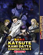 DVD ANIME Katsute Kami Datta Kemono-Tachi E Vol.1-12 End English Subs +FREE SHIP