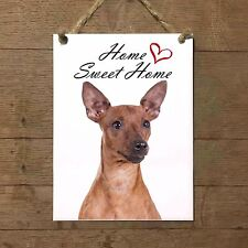 PINSCHER Home Sweet home mod3 Targa cane piastrella ceramic tile dog