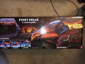 Mattel Masters of the Universe Classics POINT DREDD & TALON FIGHTER New MOTUC