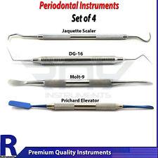 Dental Endodontic DG16 Restorative Periodontal Jaquette Hygiene Instruments New