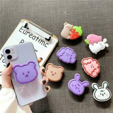 Cute Expanding Cartoon Phone Holder Stand Finger Holder Socket Mount Universal