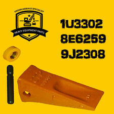 1U3302 Caterpillar Model Long Tips Heavy Duty- Retainer and Pin Included