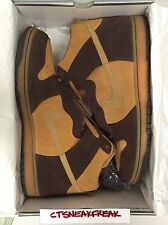 2003 Nike Dunk High Pro SB Size 13 OG Maple Hay Baroque Brown Retro 305050-222