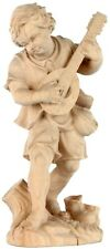 Junge mit Gitarre, Holz-Skulptur Figur, Musik, Tracht