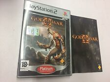 GOD OF WAR II  PLATINUM PS2 2 PAL USATO