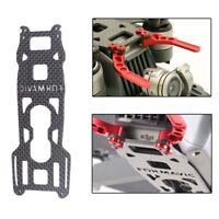 Carbon Landing Gear Skid Kit Gimbal Guard Plate Protector for DJI Mavic Pro Body