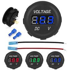 12V LED Digital Display Voltmeter Car Motorcycle Voltage Volt Gauge Panel Meter