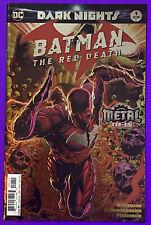 DARK NIGHTS: BATMAN THE RED DEATH #1 (DC COMICS 2017) DC METAL TIE IN FOIL | 9.0