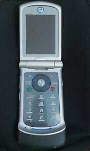 Motorola RAZR VE20 - Silver Cellular Phone - For Parts Only - AS-IS