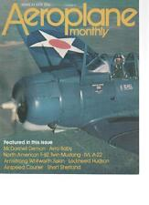 AEROPLANE MONTHLY MAGAZINE  MARCH 1978 F-82 TWIN MUSTANG   LS