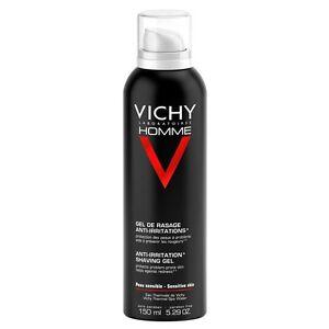 Vichy Homme Anti-Irritation Shaving Gel 150ml GENUINE & NEW