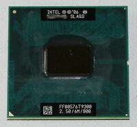Free shipping Intel Core 2 Duo T9300 2.5G/6M/800 Mobile CPU Processor Socket P