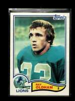 1982 TOPPS #345 RAY OLDHAM GOOD LIONS