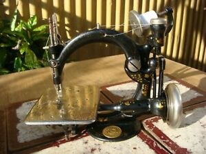 Old Vintage Antique  Sewing Machine Wilcox Willcox & Gibbs For Restoration