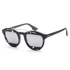 Christian DIOR mujer refleja manía 1S-0AB8-50IR 50mm Habana Gris Gafas de sol