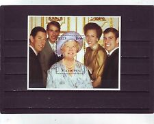 MALDIVE ISL - SGMS2278 MNH 1995 95th BIRTHDAY QUEEN MOTHER