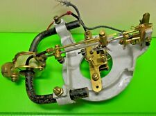 ANTIQUE OLD VINTAGE BATTERY OPERATED BULLE ELECTRIC CLOCK MOVEMENT REPAIR SPARES