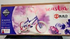 """""""Seastar"""" 16"""" Bicycle With Sturdy Trainer Wheels  For Ages 4-6 Years By """"Huffy"""""""