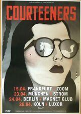COURTEENERS 2013 TOUR  -  orig.Concert Poster -- Konzert Plakat  A1 NEU