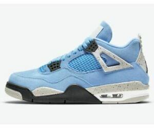 Nike Air Jordan 4 Retro University Blue UNC 2021 CT8527-400 Men's/GS/PS/TD Sizes