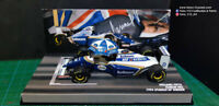 F1 Williams FW16 Spanish GP Winner 1994 Hill minichamps n/spark ferrari 1:43