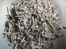 770g LEGO PARTS white plates lot STAR WARS CITY BATMAN MARVEL modified parts
