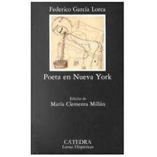 Poeta en Nueva York, Federico, Garcia Lorca, Acceptable Book
