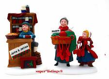 Dept. 56 Christmas Bazaar Woolen & Preserves Early Version Mis-Spelled Nev 56595