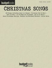 Christmas Songs Sheet Music Budget Books Piano Vocal Guitar Songbook N 000310887