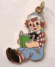 Reading Storybook School Raggedy Andy Charm Ann Anne Stories Charms Bracelet