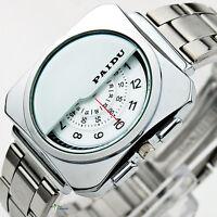 Nove;ty Gift Valentine Luxury Mens Quartz Analog Wristwatch Business Boyfriend