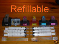 refillable ink cartridge for HP 02 C7250 C7280 D7260