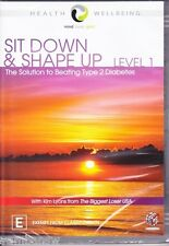 SIT DOWN AND SHAPE UP LEVEL 1 * MIND BODY SPIRIT * NEW & SEALED DVD