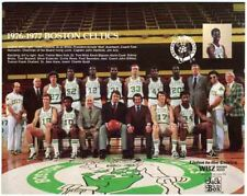 1976-77 BOSTON CELTICS BASKETBALL TEAM GLOSSY PHOTO