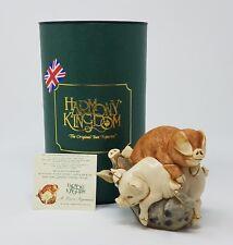 Harmony Kingdom A Love Supreme Pigs Uk Made Figurine New In Box