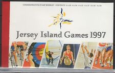 JERSEY SGSB55 1997 7th ISLAND GAMES BOOKLET MNH