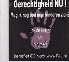Erik De Ruijter-Gerechtigheid Nu cd single