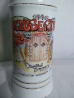 Rare limited edition number 54/100 1990 Capital Brewery Beer Stein Oktoberfest