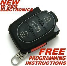 NEW 2003 2004 AUDI A4 AND A4 QUATTRO REMOTE KEY FOB 8Z0 837 231 F - MYT8Z0837231