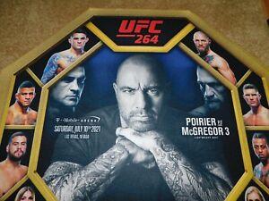 UFC 264 Poirier vs McGregor Ring Mat F/ JOE ROGAN!!!